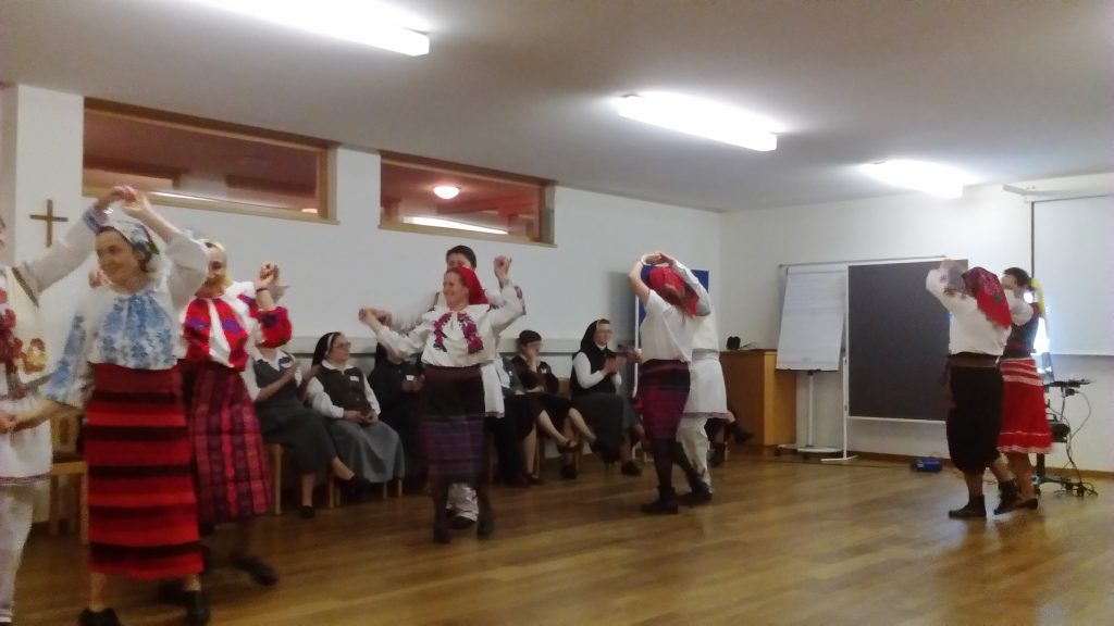 Our Hungarian sisters is national costume in a dance that brought us all in ....