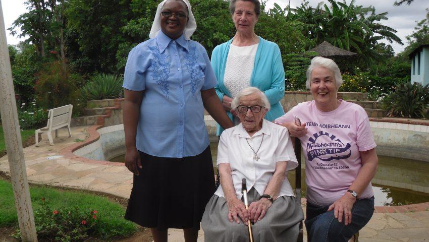 Sr Christopher Angell turns 100!