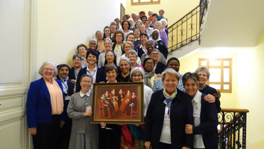 HISTORIC GATHERING OF MARY WARD'S INSTITUTE
