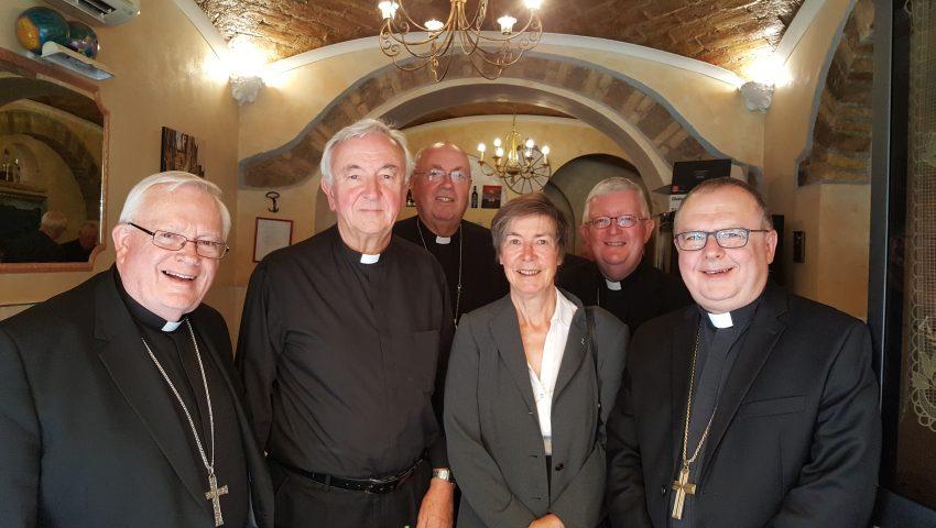 Historic first as Sr Frances Orchard CJ joins Bishops' ad limina visit