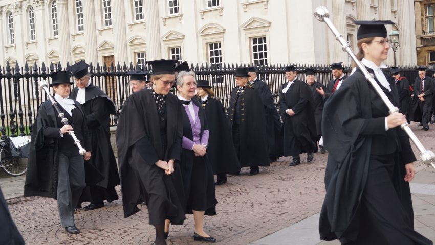 Jane Livesey CJ gives University of Cambridge sermon