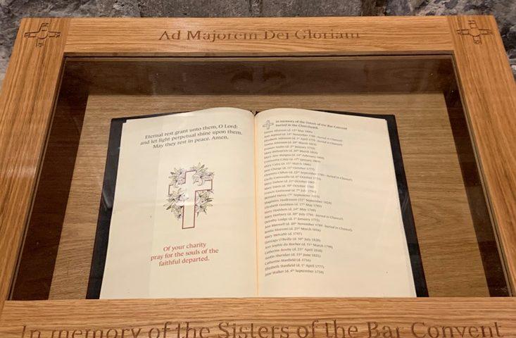 Holy Trinity Micklegate Honours CJ Sisters