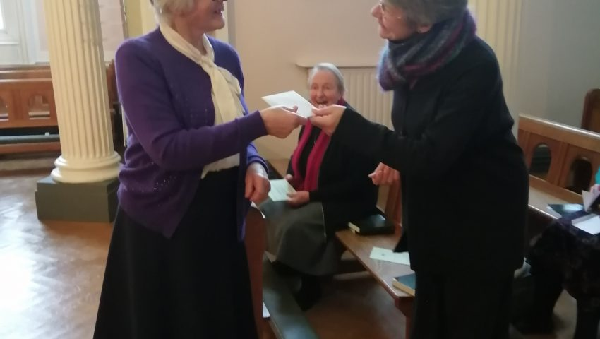 The Missioning of Sister Sarah Dobson as Provincial of the English Province
